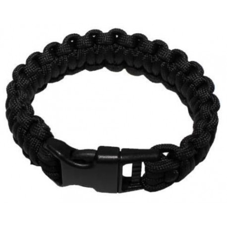 MFH Survival bracelet Black -  Medium