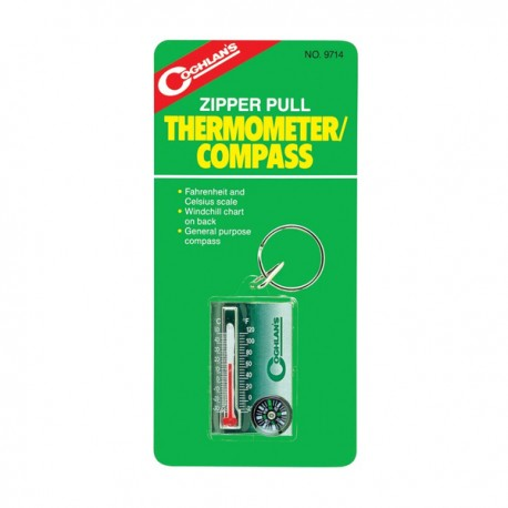 Coghlan's Zipper Pull Therm/Compass