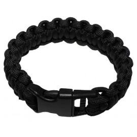 MFH Survival bracelet svart - Small