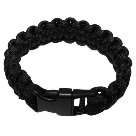 MFH Survival bracelet svart - Small