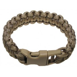 MFH Survival bracelet - Small 22 cm brown