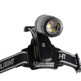 Relags LED-ficklampa Clip med pannband
