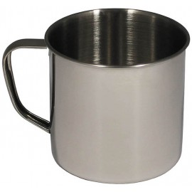 MFH Cup in stainless steel 500 ml