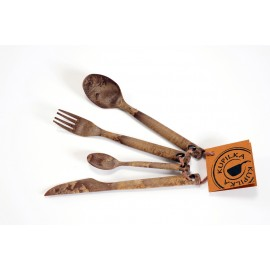 Kupilka  Cutlery-set Brown