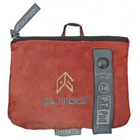 McNett Outgo towel - PT Pod Red
