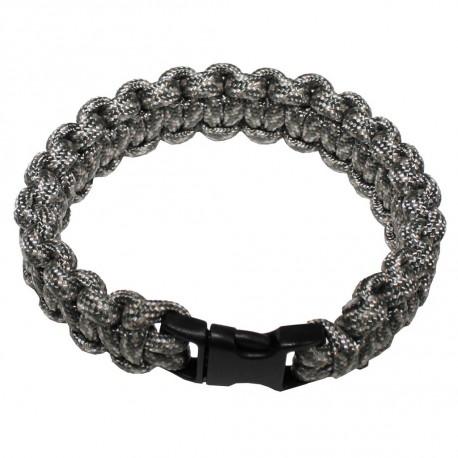 MFH Överlevnadsarmband Silver - survival bracelet -  Small