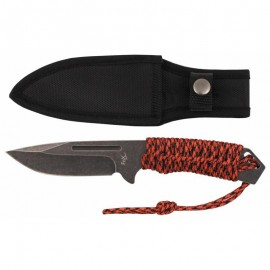Survival knife Red rope Big